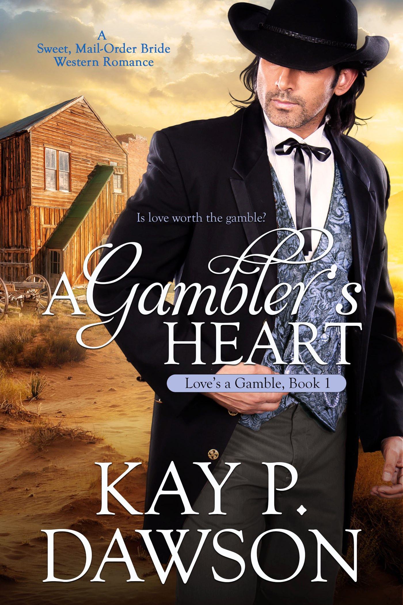 A Gambler's Heart - Love's A Gamble Series