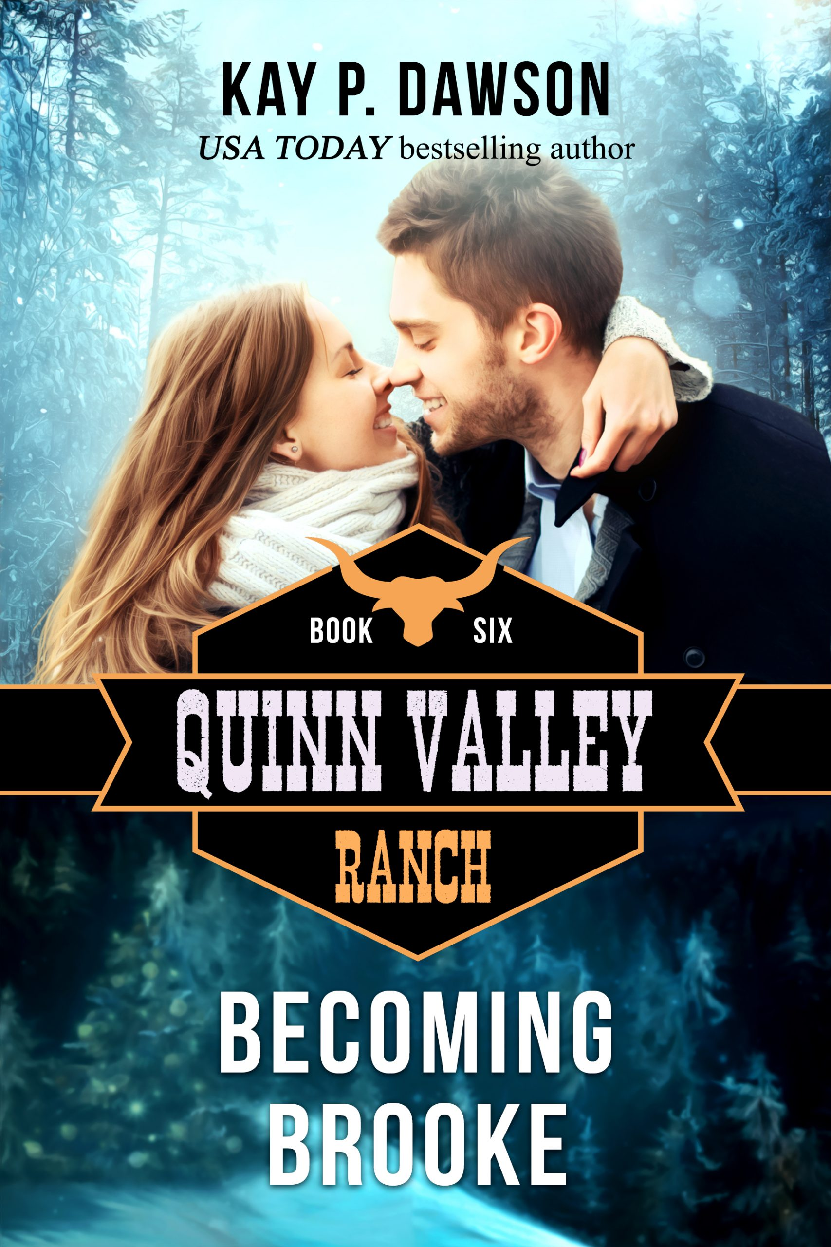 Becoming Brooke - Quinn Valley Ranch Series