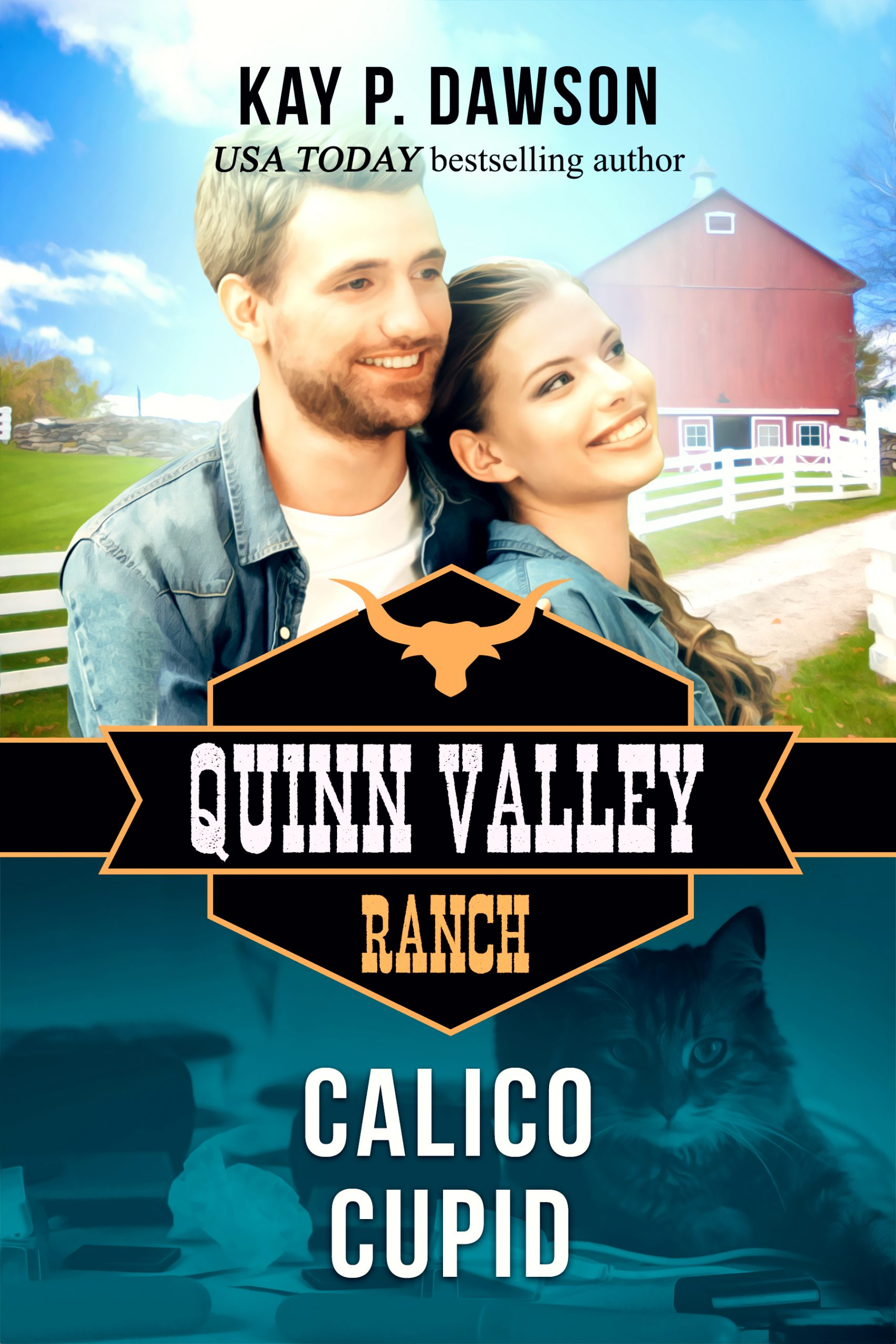 Calico Cupid - Quinn Valley Ranch Series